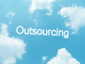 Outsource IT with Cloud