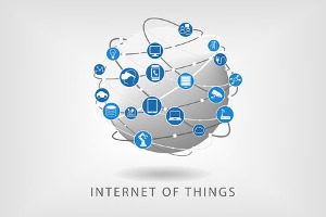 the internet of things logo, which is now impacted by net neutrality