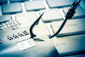 Phishing potential due to data breach
