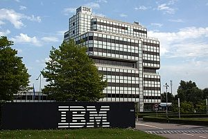 IBM building that provides cybersecurity solutions and statistics