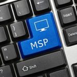 a button on a keyboard that reads MSP