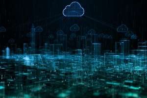 digital cloud system being protected