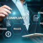 small business owner looking up compliance requirements